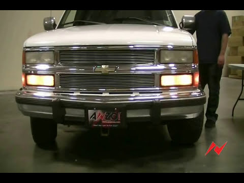 88-98 Chevy/GMC Full SIze Headlight and Parking Light install
