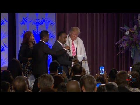 Full Speech: Donald Trump Speaks to African American Church in Detroit 9/3/16