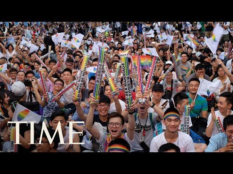 Taiwan Sets A First For Asia With A Landmark Legal Ruling On Same-Sex Marriage | TIME