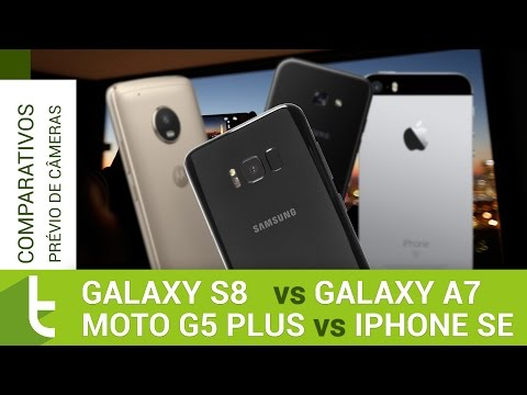 Galaxy S8: comparativo prévio de câmera do TudoCelular.com