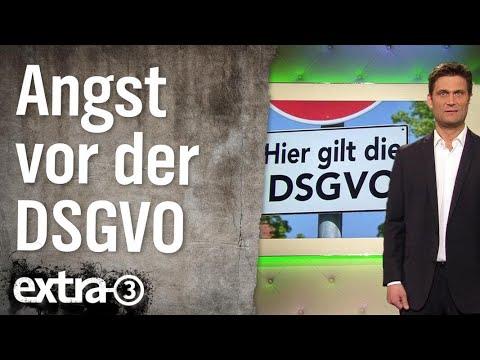 Angst vor der DSGVO | extra 3