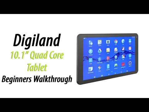 Digiland 10.1 Tablet DL1008M | Beginner's Walkthrough