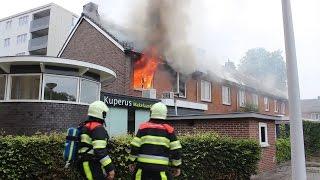 Uitslaande brand in woning Drachten