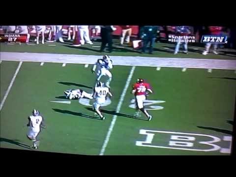 Taiwan Jones big hit vs Indiana 2012 video.