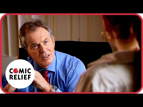 Lauren Cooper Meets Tony Blair | Comic Relief