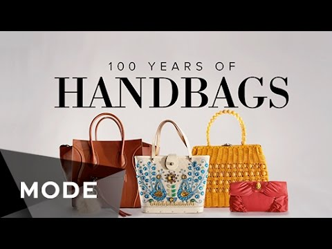 100 Years of Handbag Fashion in 3 Minutes