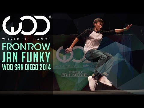 JAN FUNKY | FRONTROW | World of Dance San Diego 2014 #WODSD