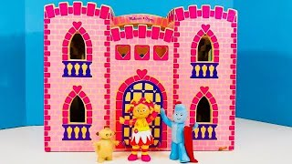 Pink Castle TREASURE Easter Egg Opening with IN THE NIGHT GARDEN Toys!