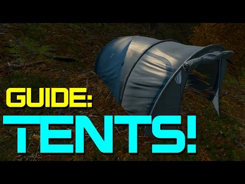 Guide - A quick look at tents in DayZ Standalone. This guide includes where to find the tent, how to use it, how to protect your tent from thieves and where you can place you tent. TWITTER: https://twitte...