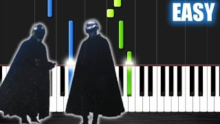 The Weeknd - I Feel It Coming ft. Daft Punk - EASY Piano Tutorial by PlutaX Video