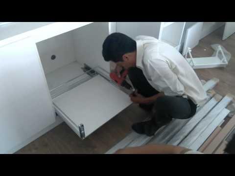Lắp đặt tủ  bếp và phụ kiện