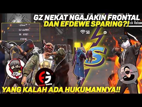 GZ VS FRONTAL & EFDEWE SPARING HAVEFUN?!! YANG KALAH KENA HUKUMAN!!