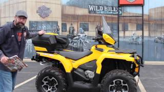 6. 2013 Can-Am Outlander 1000R XT with LIN-Q ACCESSORIES!