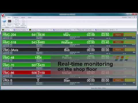 Cimco MDC CNC Machine Monitoring software from HA Mideast