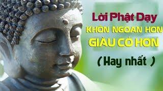 Nghe Lời Phật Dạy Mỗi Tối GIÚP BẠN SỐNG KHÔN NGOAN HƠN GIÀU CÓ HƠN