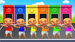 Video Belajar warna bahasa indonesia dengan upin dan ipin dan sopo jarwo by alya & rizal MP3, 3GP, MP4, WEBM, AVI, FLV Desember 2017
