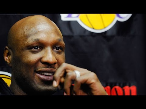 Lamar Odom Hikes With Kim and Khloe Kardashian