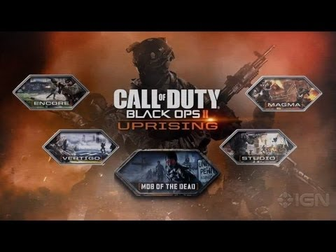 uprising - Take a behind-the-scenes look at the second DLC pack for Black Ops II, offering four multiplayer maps and a new Zombies story. Subscribe to IGN's channel for...