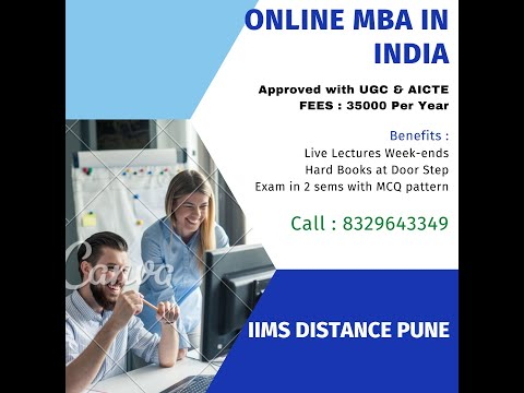 Distance MBA In India/ Online MBA in India