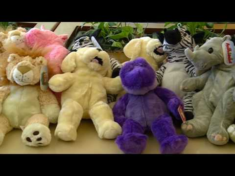 Handmade Stuffed Animals for Patients