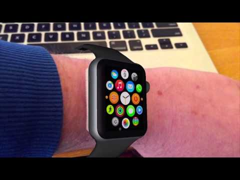 Apple Watch augmented reality test