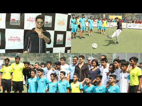 Sidharth Malhotra Inaugurate National Inclusion Cup - A CSR Initiative