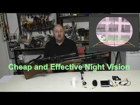 Homemade Night Vision Rifle Scope - Inexpensive!