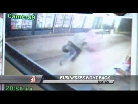 VIDEO: 90 Year Old Owns Robber With Gun