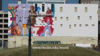 Rhodes-Hill Mural: Time Lapse Creation