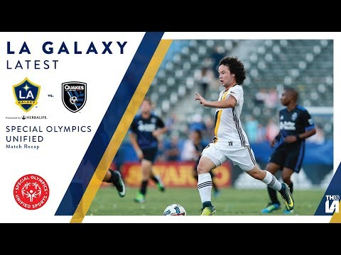 Video: LA Galaxy Special Olympics Unified Team Match Recap | LATEST