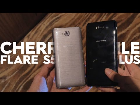Cherry Mobile Flare S5 and Flare S5 Plus Hands-on and Impression