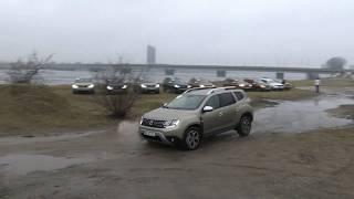 """AutoMedia Latvia"" gūst pirmos iespaidus ar jauno ""Dacia Duster"" krosoveru"