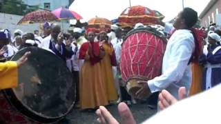 Ethiopian Orthodox Church Debre Haile Kidus Gebriel 2009 Part 2