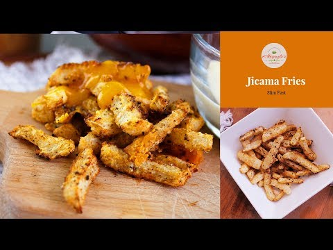 How To Cook Jicama - How Make Keto French Fries - Cow Carb Fries- Jicama Fries