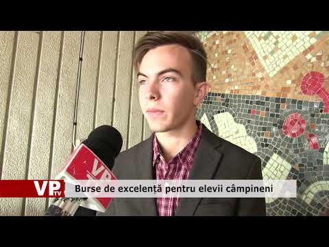 Burse de excelență pentru elevii câmpineni