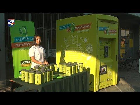 ALUR instaló en Paysandú un contenedor inteligente para recolectar aceite usado de cocina