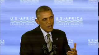 U.S. Africa Leaders Summit: President Obama Press Conference