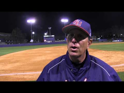 Postgame - Baseball vs. North Georgia, Games 2-3
