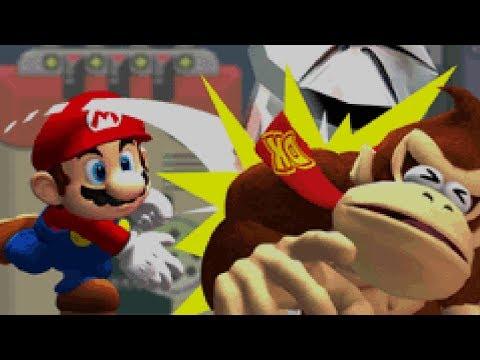 Mario Vs. Donkey Kong - World 1: Mario Toy Company (100%) (видео)