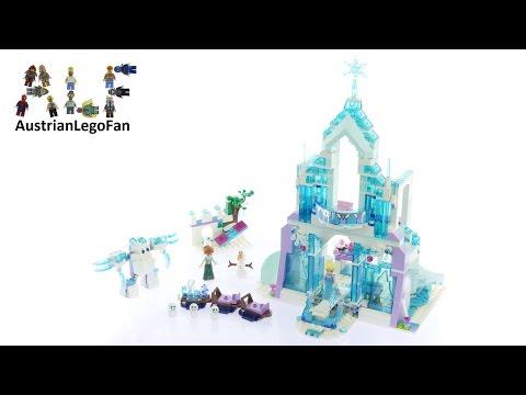 Vidéo LEGO Disney 41148 : Le palais des glaces magique d'Elsa