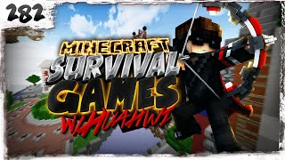 Minecraft Survival Games w/ Huahwi #282: PRO STRATS!