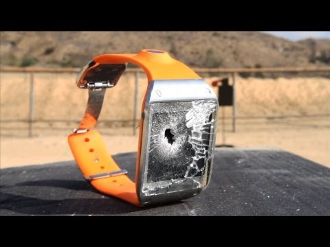 Galaxy Gear - un alt fel de crash test [ video ]