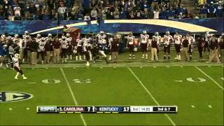 DeVonte Holloman vs Kentucky (2012)