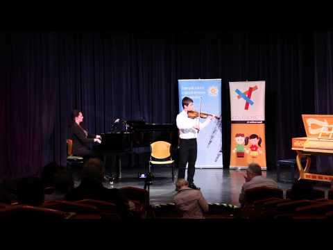 Adj teret a tehetségnek! 2013 - Antalóczy Máté (hegedű) produkciója