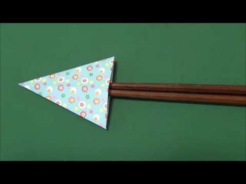 Kitchen Tutorial - 006 -- Chopstick Envelope