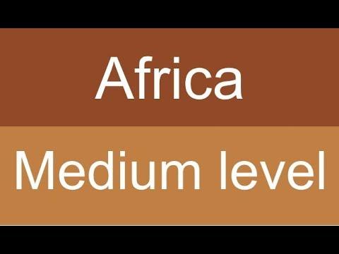 Countries and capitals quiz - Africa - Level: Medium