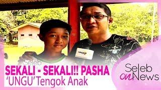 Video SEKALI - SEKALI!! PASHA 'UNGU' Tengok Anak – SELEB ON NEWS MP3, 3GP, MP4, WEBM, AVI, FLV November 2018