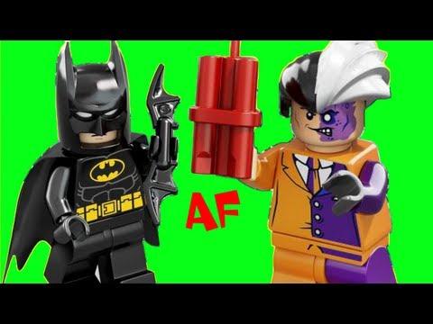 Vidéo LEGO DC Comics Super Heroes 6864 : La poursuite de Double-Face en Batmobile