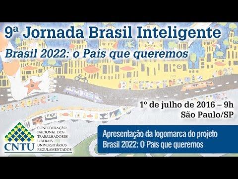 9ª Jornada Brasil Inteligente - Apresentação da Logomarca Brasil 2022