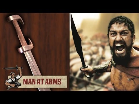 King Leonidas Sword 300  MAN AT ARMS